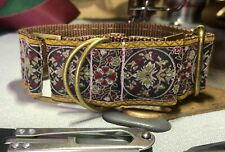 """1.5"""" POSH PUP SMALL BREED or PUPPY MARTINGALE DOG COLLAR extra small 9-12""""in"""