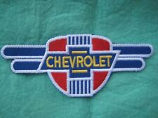 "Chevrolet  Service  Uniform Patch 5 1/4"" X  2 1/8"""