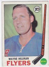 1969-70 TOPPS HOCKEY WAYNE HILLMAN #91 FLYERS EX+ *59694