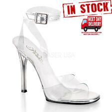 Pleaser Stiletto Synthetic Heels for Women
