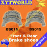 FRONT REAR Brake Shoes YAMAHA RS 100 1Y9 UK 1979 1980 1981