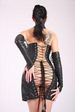 Cuir Corset Robe Korsettkleid Dress
