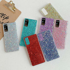 Bling Glitter Soft Case Cover For Samsung S21 S20 FE A32 A21S A51 A71 Note 20