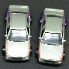 HOT WHEELS PEUGEOT 405 LOT (2) SILVER (1) LACE (1) 5 SPOKE VHTF RARE WHEELS