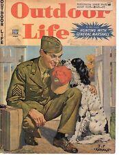 1943 Outdoor Life September magazine cover - English Setter by  J.F. Kernan-Rare