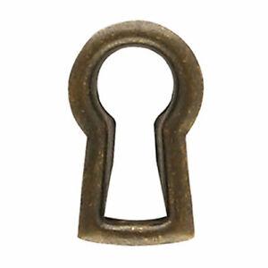 "Classic Furniture Escutcheon Windover Antique Keyhole Cover Insert Piece 1/2"""