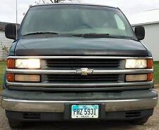 96 15 Chevy Express GMC Savana 4 Light High Beam Kit, Turns Low Beams Back On!