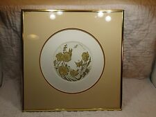 Pearl Abrams Petit Point PRINT FRAMED SIGNED-LISTED ARTIST LIMITED ED 21/200