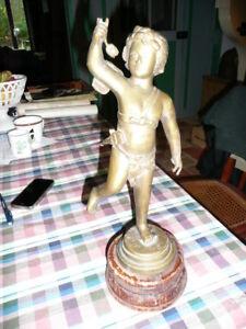 Statua Angelo IN Bronzo