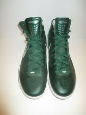 Nike Zoom Hyperdunk 2011 TB Men's Basketball Shoes Gorge Green and White Size 15