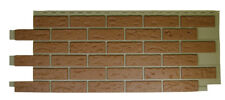 Mobile Home/RV Novik Red Used Blend Simulated Brick Skirting Panel (9 Pieces)