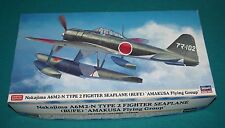 Nakajima A6M2-N Type 2 Fighter Seaplane Rufe Hasegawa 1/48 Complete & Unstarted.