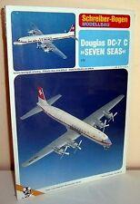 "Kartonmodellbau Flugzeug Douglas Dc-7 C ""seven Seas"" Schreiber-bogen 70933"