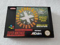 Revolution X [Aerosmith] - Super Nintendo SNES Game [PAL NOE GERMAN] CIB