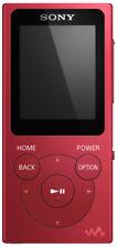 Sony Nwe394r Mp3 8go Rouge Lecteur et Enregistreur Mp3/mp4