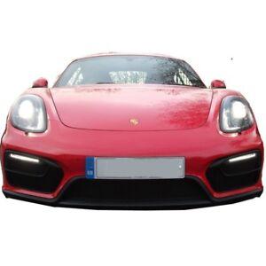 Zunsport BLACK front grille set for Porsche Boxster 981 GTS