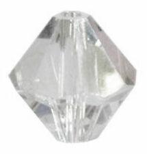 50 Swarovski Crystal 3 Mm Bicone Beads 5328 Crystal Clear