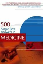 500 Single Best Answers in Medicine (Medical Finals Revision Series), Koppel, Cr