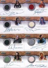 Xena Warrior Princess Autograph Costume Card Set 12 Cards
