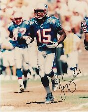 NFL Football WR Tony Simmons Patriots autographed signed 8x10 photo