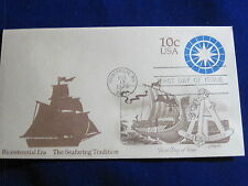 Scott US U571, 10 Cent Seafaring Tradition Envelope, Artmaster FDC 1975