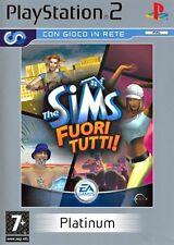 THE SIMS 2: FUORI TUTTI PS2 (THE SIMS BUSTIN'OUT )  EDIZIONE PLATINUM