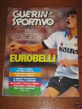 GUERIN SPORTIVO=N°14 1986=POSTER ROMA 85/86 CM 40X27
