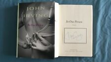 New Signed John Irving In One Person Book 1/1 HC DJ Rare Bookplate Billy Abbott