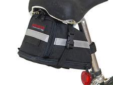 Bushwhacker Tacoma Black Bike Seat Bag Bicycle Wedge Cycling Underseat Frame Bag