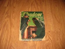 THE SHADOW  MAGAZINE   MYSTERY NOVEL GOLDEN AGE RARE  JUNE 1ST 1939