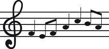 Sticker Note de Musique 007 - 115x53 cm