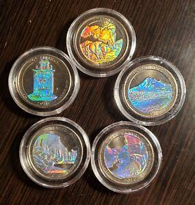 2010 America the Beautiful Statehood Quarters Hologram
