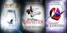 Beautiful Disaster Maddox Brothers Series Collection Set Books 1-3 Jamie McGuire