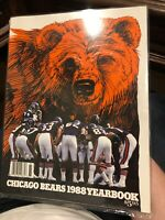 1988 Chicago Bears Official Team Yearbook