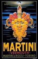 MARTINI ROSSI VERMOUTH TORINO in rilievo stile retrò vintage metallo segno pub Arredamento