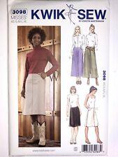 Kwik Sew Pattern 3098 Denim Jean SKIRT / A-Line Maxi Skirt  XS-XL