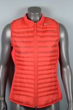 NWT! $190 Womens Nike Aeroloft Combo Golf Vest 802902 696  sz M Crimson Red