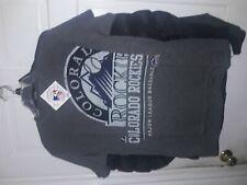 Colorado Rockies submariner style shirt MLB Rox baseball T-Shirt NEW -- Medium M