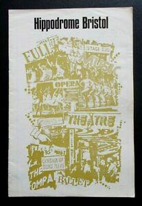 King's Rhapsody programme Bristol Hippodrome Theatre 1972 Jean Bayless D Walsh