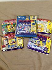 LOT of 5 Leap Frog My First LeapPad Game Cartridges Books Learning System Dora