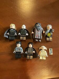 Lego Harry Potter Minifigure Lot Snape Dobby Lucius Hagrid Harry Filch Voldemort