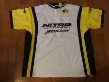 Nitro Mercury fishing jersey Size L or XL... free sticker