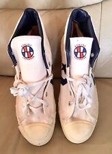 Vintage Converse ABA White Canvas USA Made Mens 6 US
