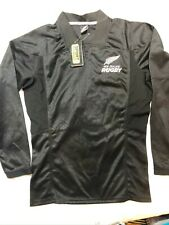 New Zealand All Blacks Authentic long sleeve rugby jersey shirt Mens XL NEW