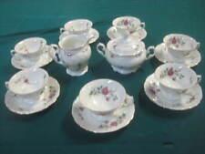 17pc VTG Wawel China 7 Tea Cups, 7 Saucers, Creamer & Sugar Set Sheraton Rose