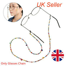 Sunglasses Eye Glasses Spectacles Eyewear Chain Cord Holder Colored Bead Lanyard