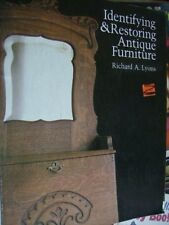 Identifying & Restoring Antique Furniture Book By Richard Lyons, Paperback, 1984