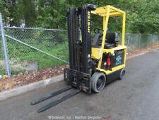 New Listing2007 Hyster E45Z-33 4,500 lbs Electric Warehouse Forklift Lift Truck 48V bidadoo