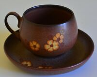 Denby Sandstone Cup And Saucer VGC