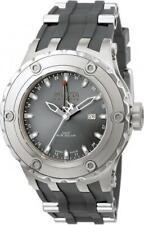 Invicta Men's 1398 Subaqua Reserve GMT Silver Grey dial with Rubber band